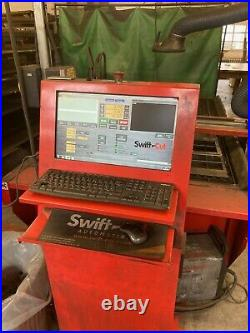 2016 SwiftCut CNC Plasma Cutting Table Auto Torch Height Adjustment