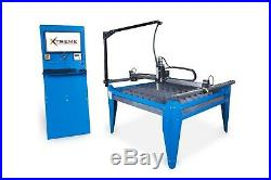 4x4 Cnc Plasma Cutting Table & hypertherm powermax 45 Plasma Cutter