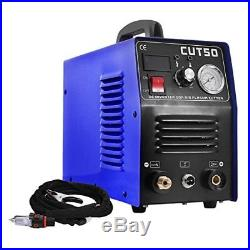 50A CUT-50 Air Plasma Cutters Welders 220V & Consumable & PT31 Torch 1-14mm GOOD