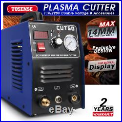 50A CUT50 14mm Cut HF Start Plasma Cutter, Everything Included, with consumables