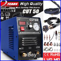 50A New 14mm Cut HF Start Plasma Cutter, Everything Includ All Accessories CUT50