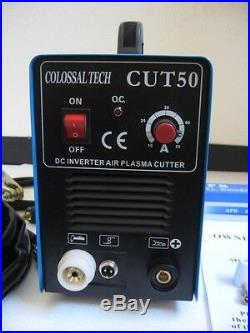 50A New Plasma Cutter CUT50 Inverter 220V Voltage & 35 Nickel Plated Consumables
