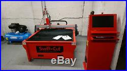 CNC Plasma Cutter Hydratherm Powermax 65 with Swift Cut 4ft x 4ft Water Table
