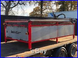 CNC Plasma Cutter Hydratherm Powermax 85 with Swift Cut 2500 84 Water Table Bed