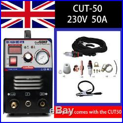 IGBT PLASMA CUTTER INVERTER HF 50 AMP 1-12mm THICKNESS 50AMP WITH CONSUMABLES