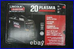 Lincoln Electric P20 Plasma Cutter K2820-1 120V 20A Cuts up to 1/4 NEW