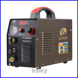 Lotos Plasma Cutter Compact Inverter Metal Clean Cut Automatic 110/220V 50 Amp