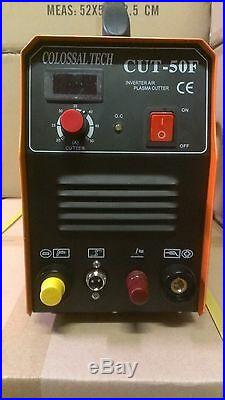 Non-Touch Pilot Arc Plasma Cutter CUT50F 220V 50AMP Includes 18 Consumables NEW
