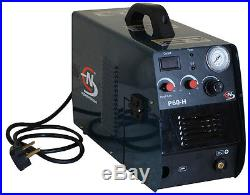 Norstar 60 amp plasma cutter with Thermacut torch cuts up to 7/8