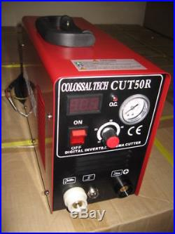 Plasma Cutter 50AMP CUT50R Digital New Inverter 220V Comes with 44 Consumables