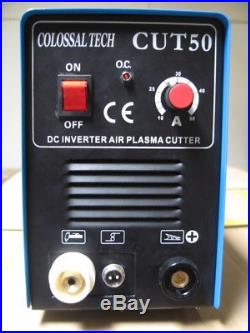 Plasma Cutter 50AMP New CUT50 Inverter 220V Voltage Includes 40 Consumables
