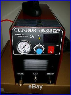 Plasma Cutter CUT50DR Digital Inverter 110/220 Dual & 44 Consumables 2018 Model