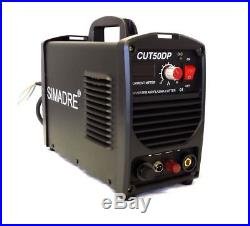 Plasma Cutter Pilot Arc 50A 26Tips 110/220V Easy 1/2 Clean Cut Simadre 60ATorch