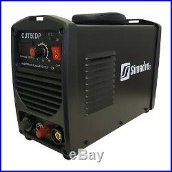 Plasma Cutter Pilot Arc 50amp Simadre 110/220v Easy 1/2 Clean Cut 50dp New