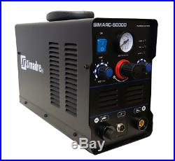 Plasma Cutter Simadre Ct5000d 110v/220v 50amp 1/2 Clean Cut Rated 50/60a Torch
