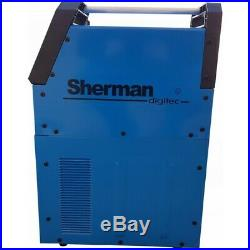 Plasma Cutting Cutter 50K Sherman 45A with LCD Display & Reducer with compressor