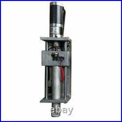 Plasma Flame Cutting Torch Holder Z Axis Lifter 100mm DC24V for CNC Machine