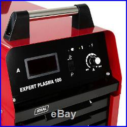 Plasma cutter Cutting machine up to 50mm IDEAL EXPERT 100 Handheld torch 400V