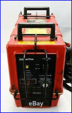 Powcon Model Star Cut High Voltage Arc Welder With Button Protection Cage