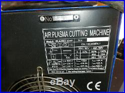 Rtech HF40 plasma cutter with manual and CNC cutting nozzles