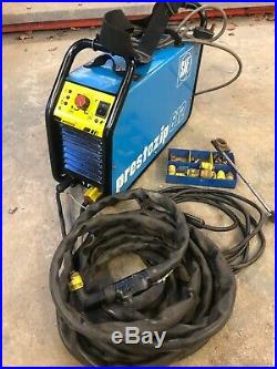 SAF PRESTOZIP 612 PLASMA CUTTER SINGLE PHASE 12mm CUT Hypertherm Lincoln