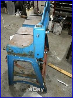 Sheet Metal guillotine treadle operated 2' 6 cut length no swaps plasma cutter