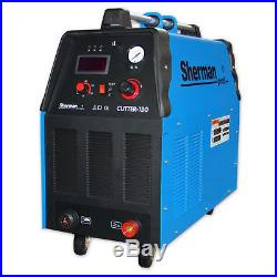Sherman Plasma Cutter 130 Thickness cut 45mm! 125A current! SUP Voltage AC50Hz