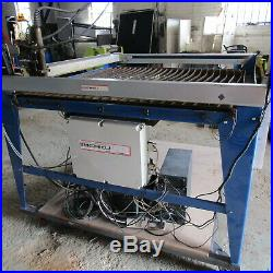 Wizzard Cnc Plasma Cutting Table With Hypertherm 45 Plasma Cutter